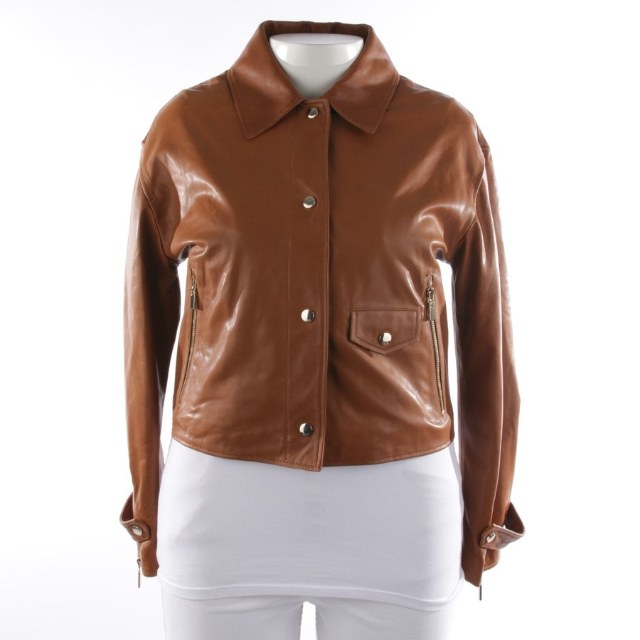 leather jacket from ARMA in cognac size 40 FR 42