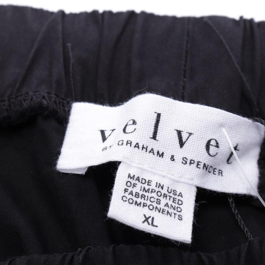 Hose von Velvet by Graham and Spencer in Schwarz Gr. XL - Neu