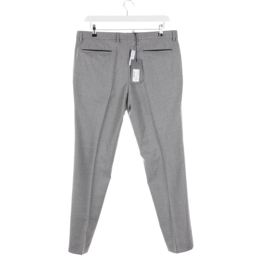 trousers from Hugo Boss Black Label in grey mottled size 54 - wilhelm - new