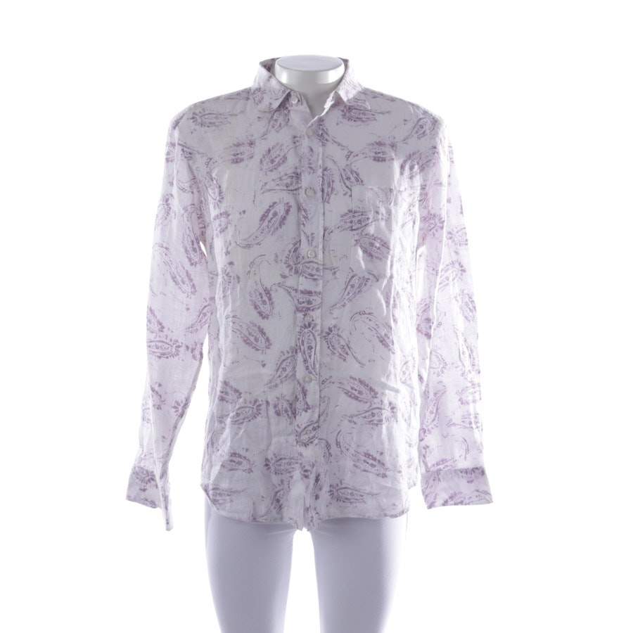 casual shirt from Zegna Sport in white and multi-coloured size M