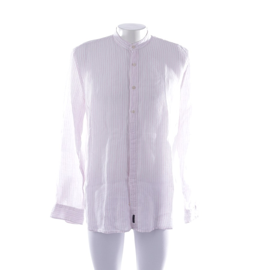 casual shirt from Marc O'Polo in white and pink size XL - shaped fit