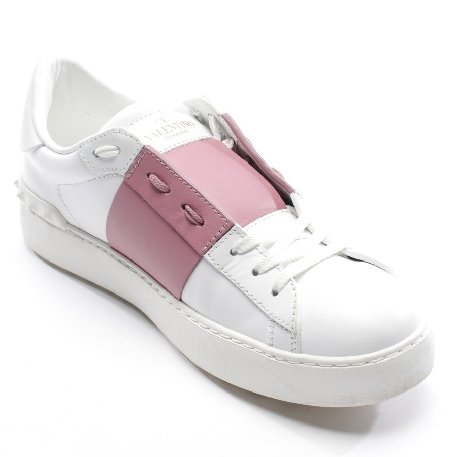 trainers from Valentino in white and pink size EUR 39 - rockstud