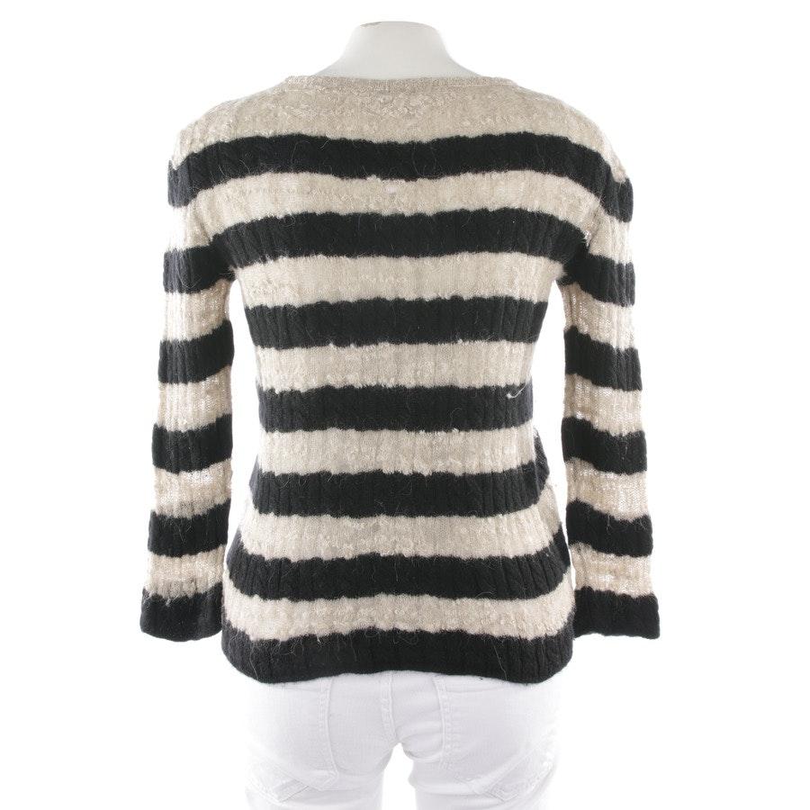 Pullover von Chanel in Beige und Schwarz Gr. 36 FR 38