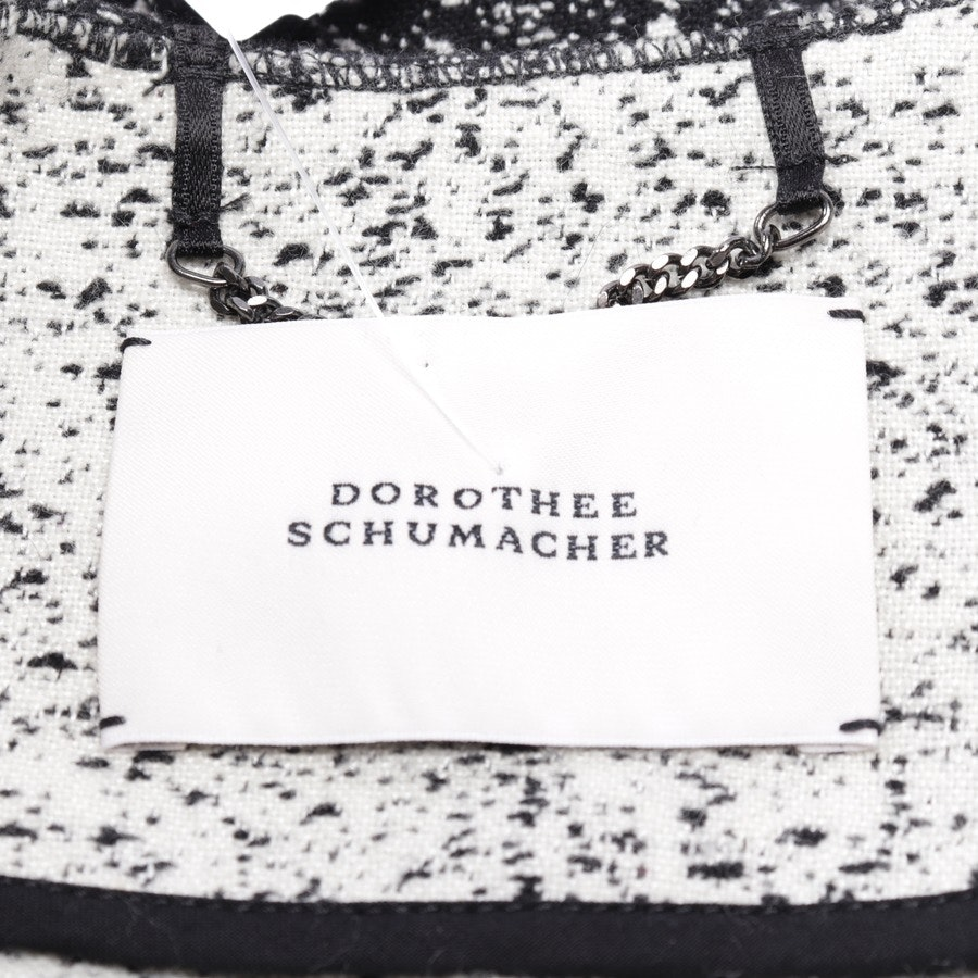 between-seasons jackets from Dorothee Schumacher in black and white size 38 / 3