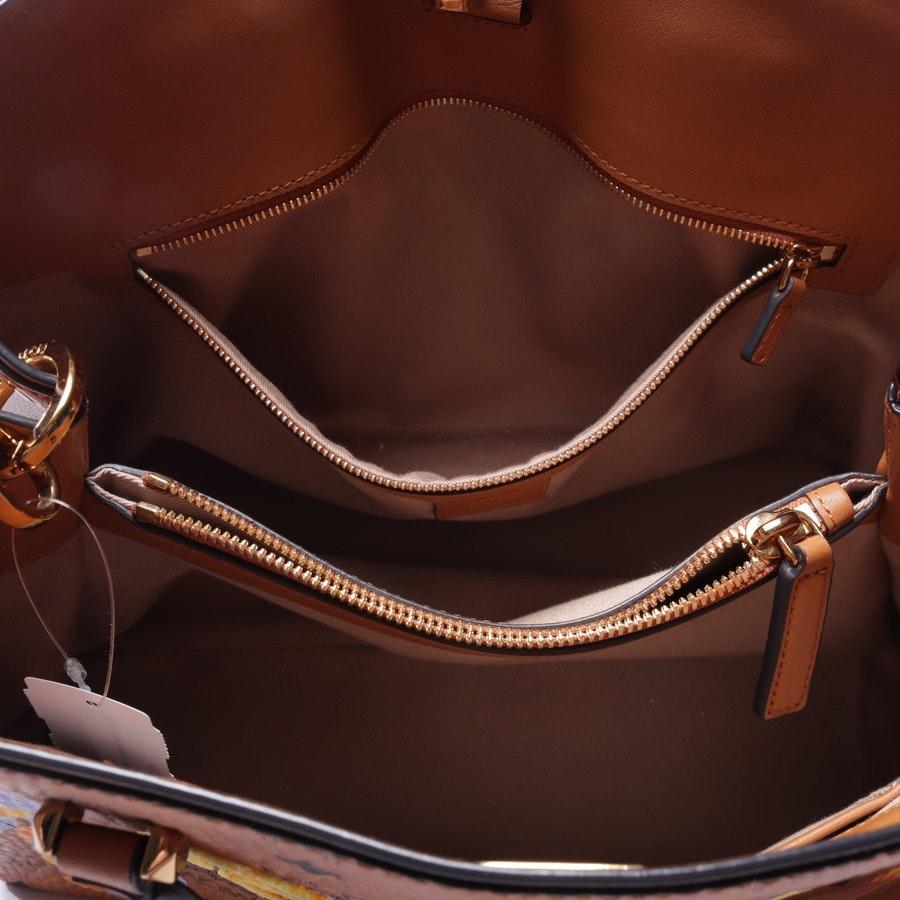 shoulder bag from MCM in beige brown and black