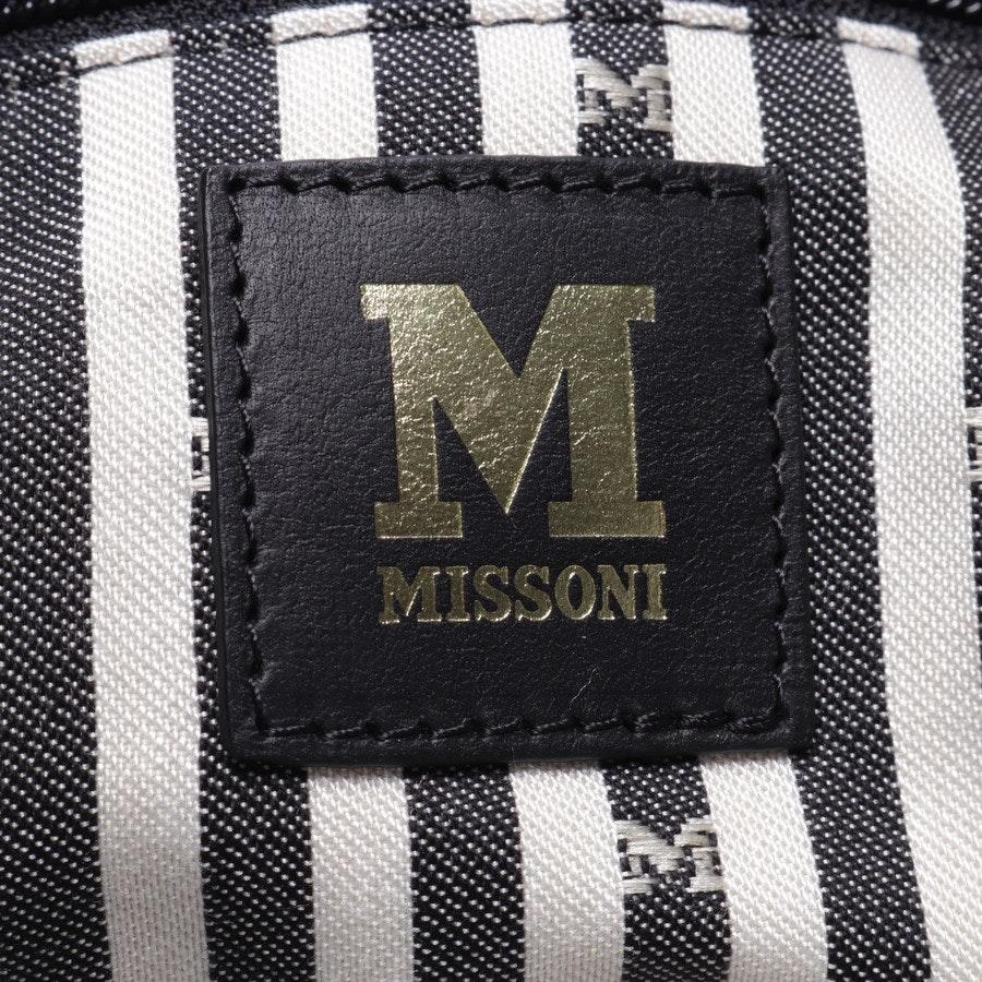 shopper from Missoni M in black and multi-coloured