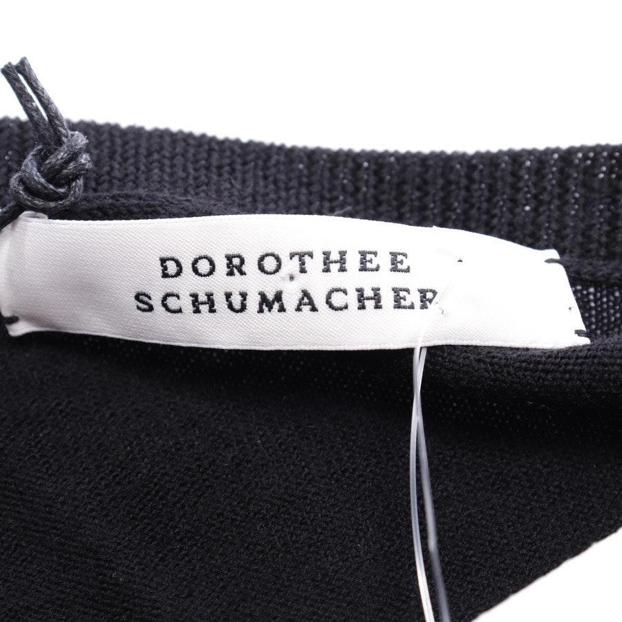 Pullover von Dorothee Schumacher in Schwarz Gr. 38 / 3 - Neu