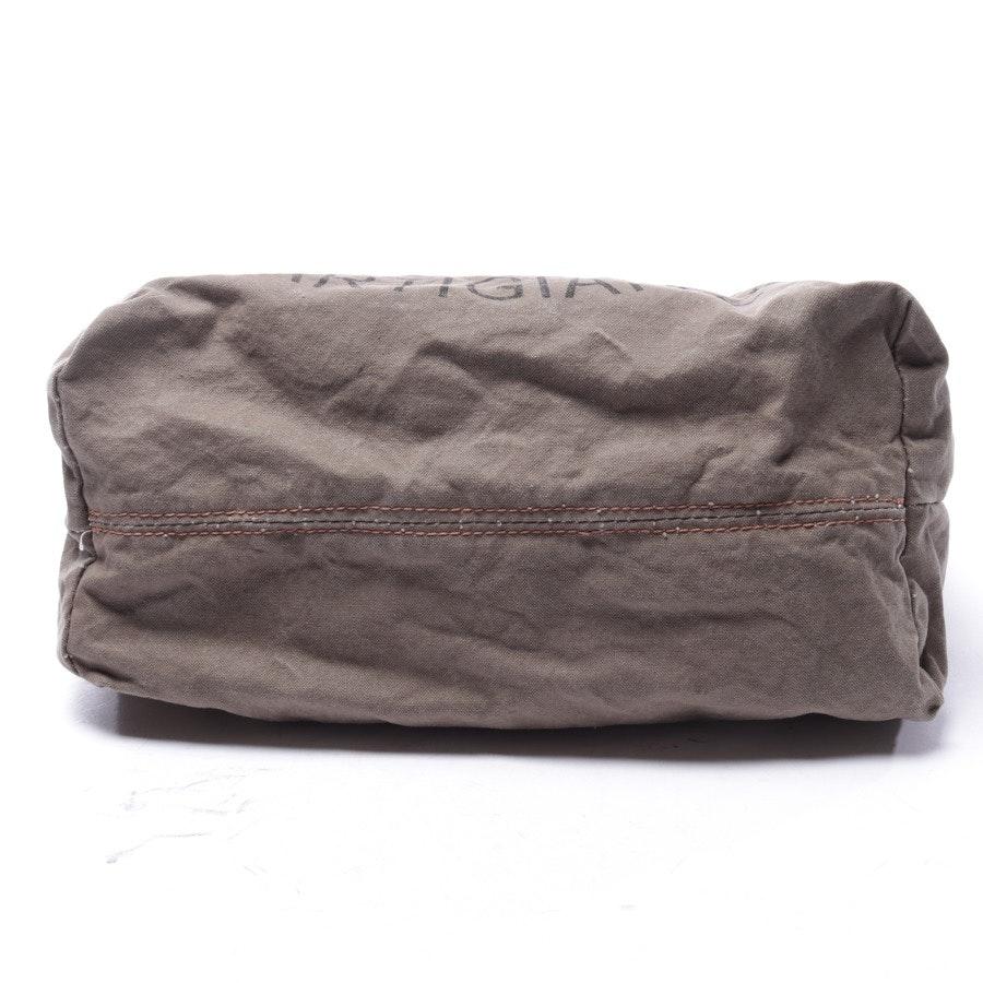 Handtasche von Campomaggi in Olivgrün und Braun