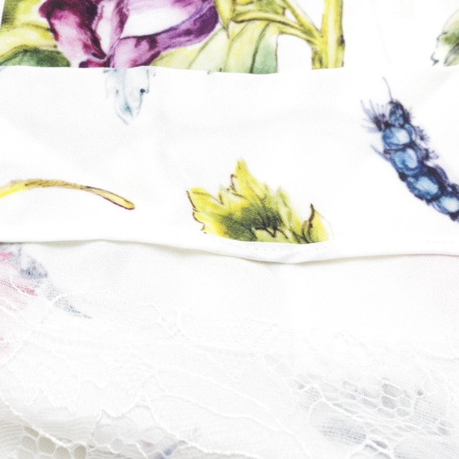 Sommerkleid von Adam Lippes in Weiß und Multicolor Gr. 36 - Neu