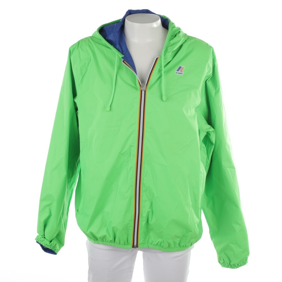 between-seasons jackets from K Way in neon green size 2XL - new
