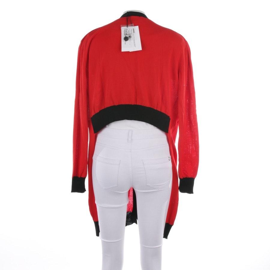 Strickjacke von Tomas Maier in Rot und Schwarz Gr. 36 US 6 - Neu