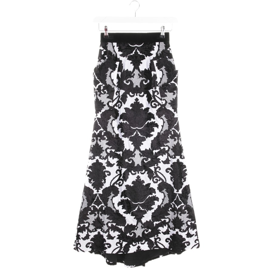 skirt from Roland Van Der Kemp in black and white size 36 - new