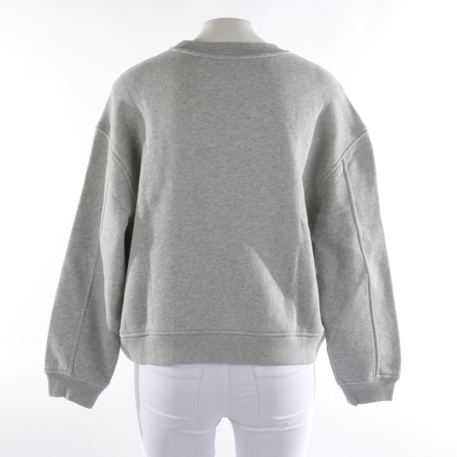 sweatshirt from Closed in grey mottled and purple size XS