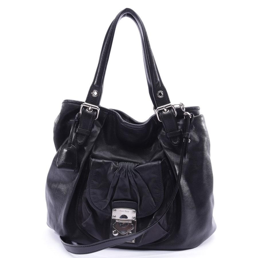 shopper from Miu Miu in black