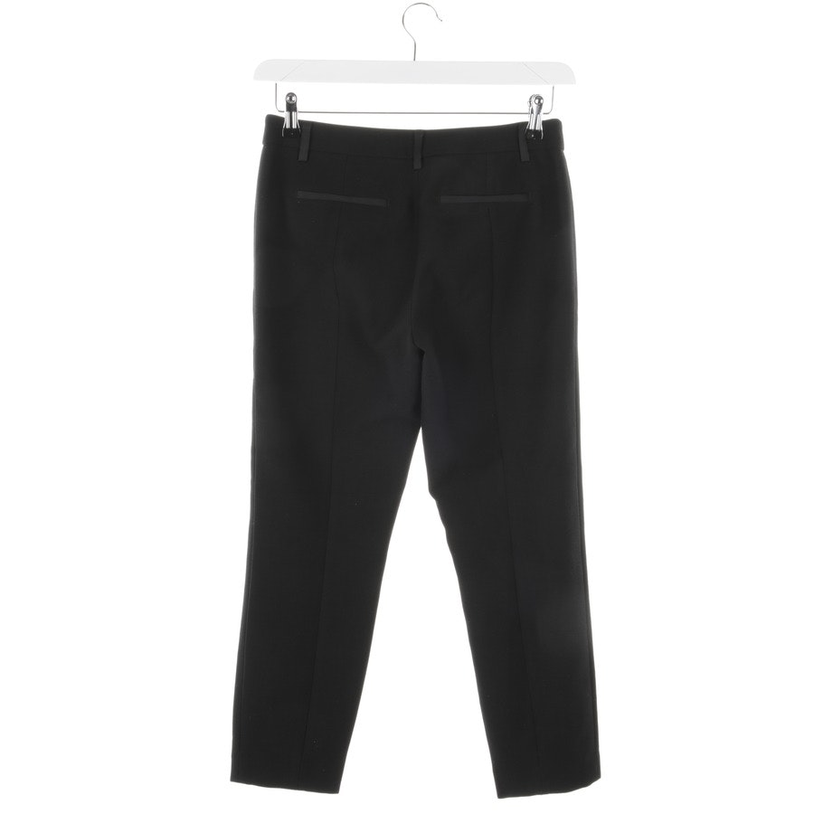 trousers from Stefanel in black size 34 IT 40