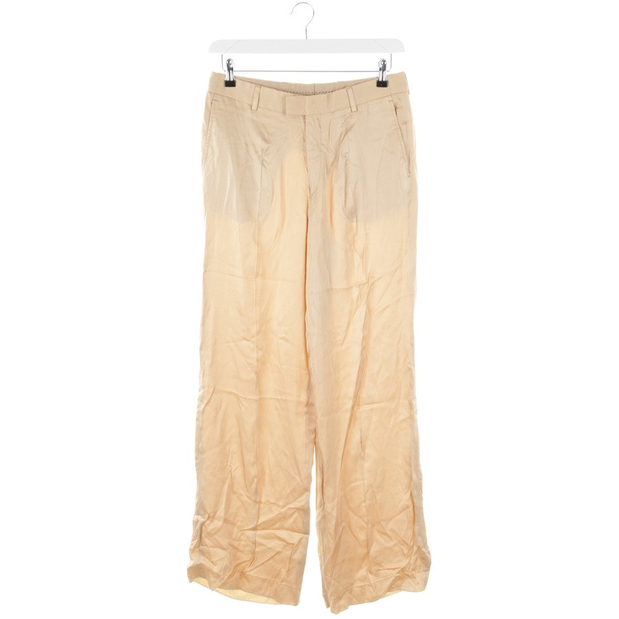 trousers from Dries van Noten in gold size 48