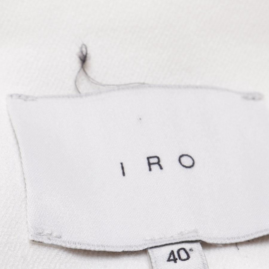 Blazer von Iro in Weiß Gr. 38 FR 40 - Cleland