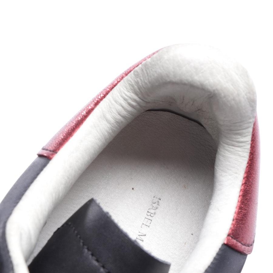 Sneaker von Isabel Marant Étoile in Schwarz und Rot Gr. D 36