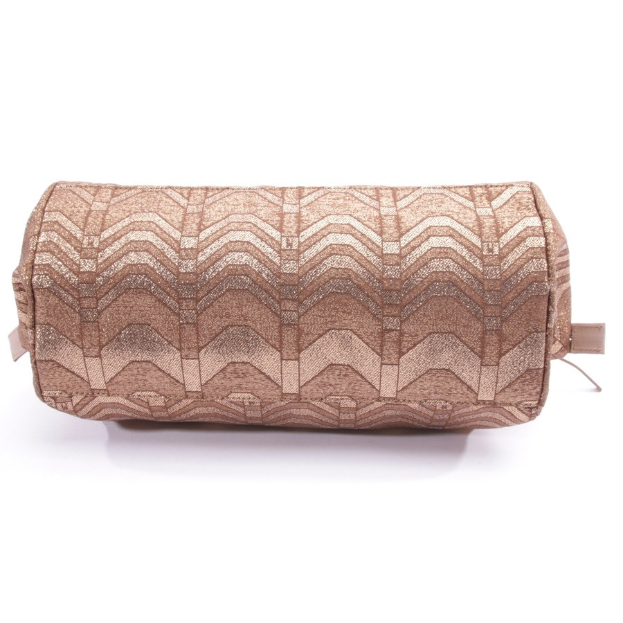shoulder bag from Missoni M in copper and brown