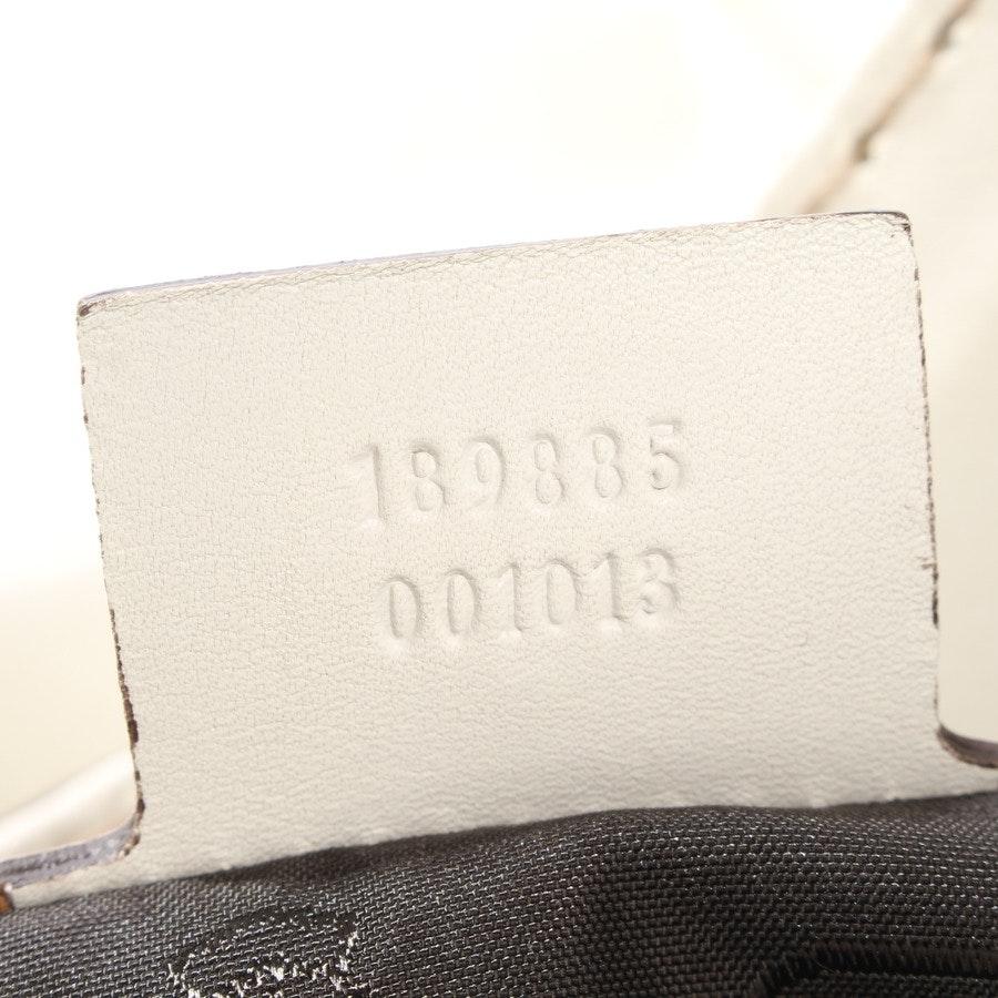 Schultertasche von Gucci in Weiß