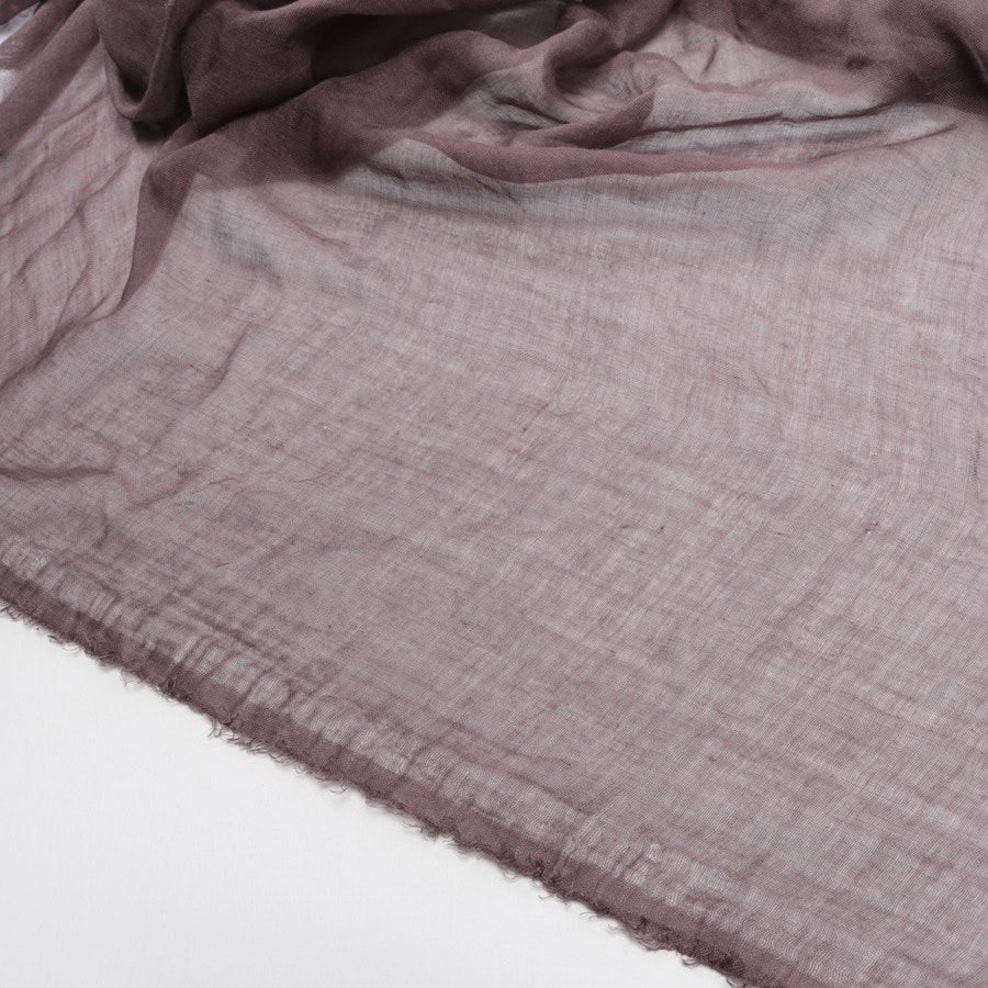 scarf from Faliero Sarti in rosewood and brown