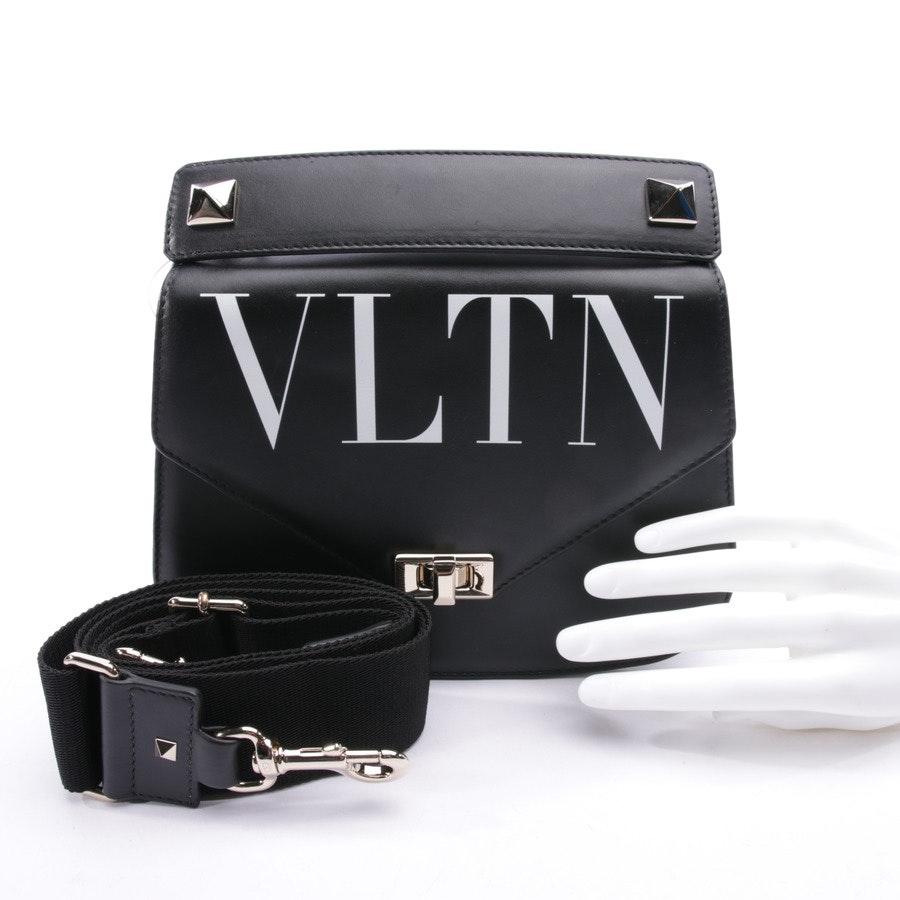 Schultertasche von Valentino in Schwarz und Weiß - Neu