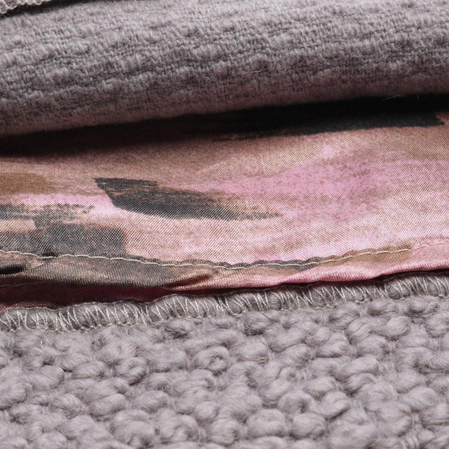 Wollrock von Maliparmi in Grau Gr. 40 IT 46