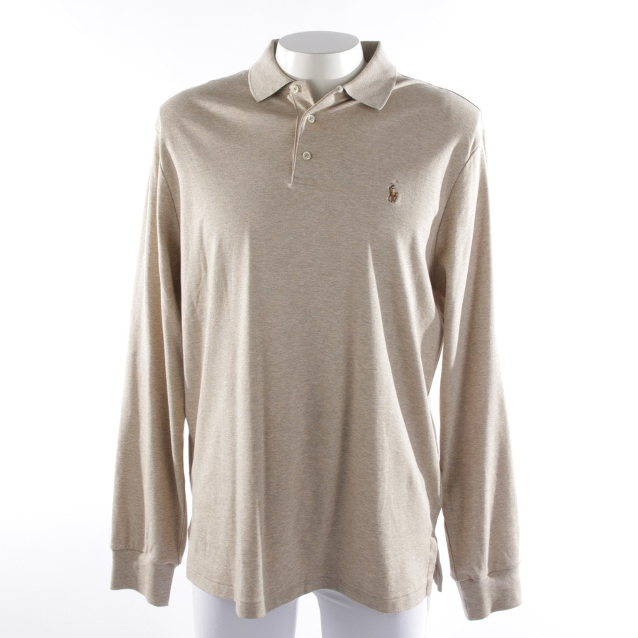 casual shirt from Polo Ralph Lauren in beige mottled size XL