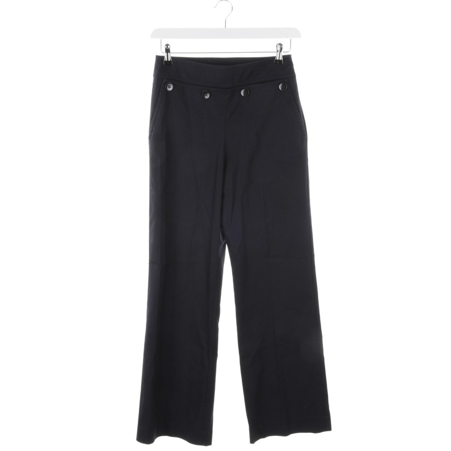 trousers from Hugo Boss Black Label in dark blue size 40