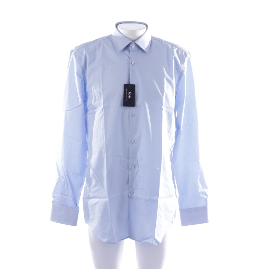 business shirt from Hugo Boss Black Label in blue size 45-46 - new
