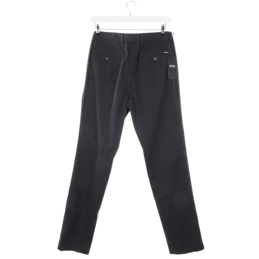 trousers from Hugo Boss Black Label in dark blue size 102