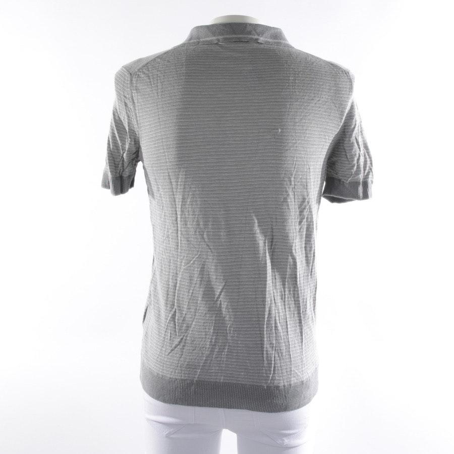 Poloshirt von Falke in Grau meliert Gr. 48