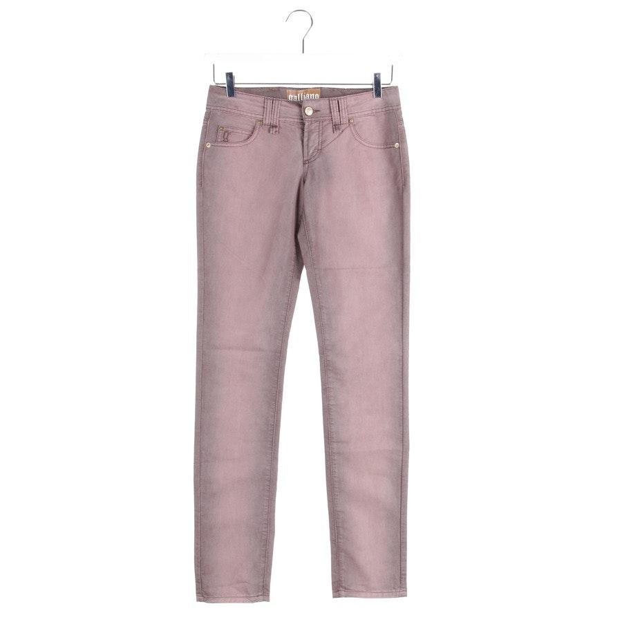 Jeans von John Galliano in Altrosa und Grau Gr. W26 - Neu