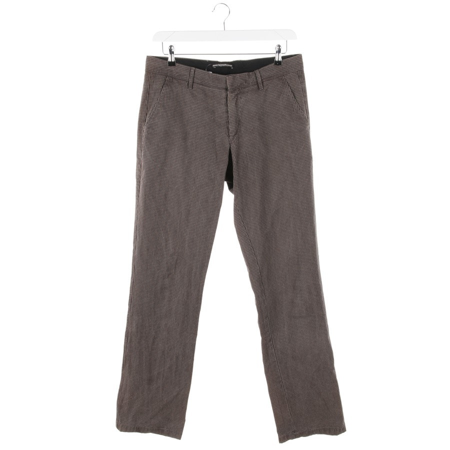 trousers from Drykorn in black and beige size W33