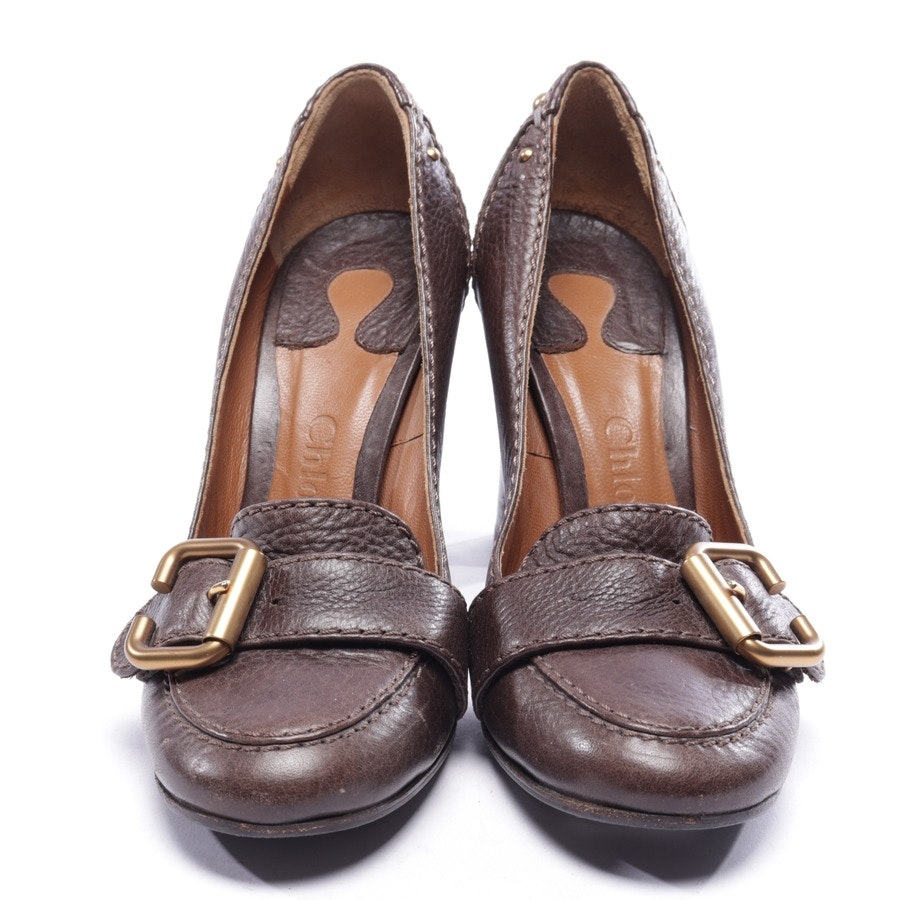 pumps from Chloé in brown size EUR 37