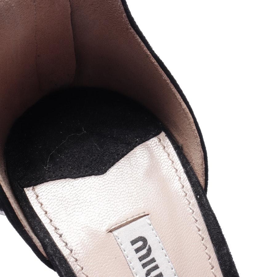 heeled sandals from Miu Miu in black size EUR 39,5