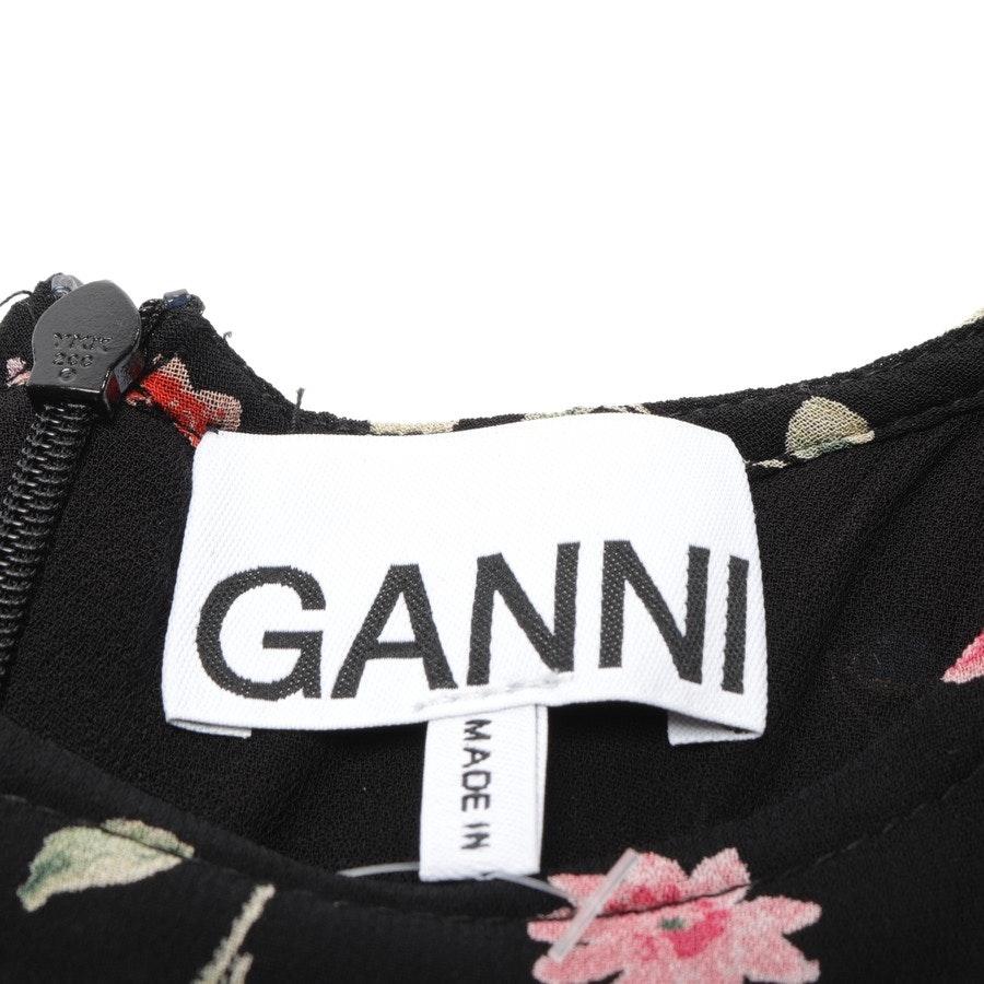 Minikleid von Ganni in Schwarz und Multicolor Gr. 34 FR 36 - Ala
