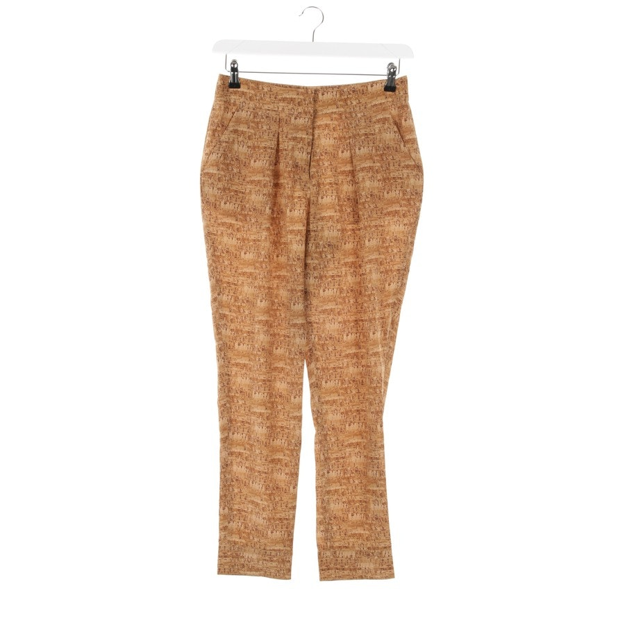 trousers from Diane von Furstenberg in beige brown and brown size 34 US 2