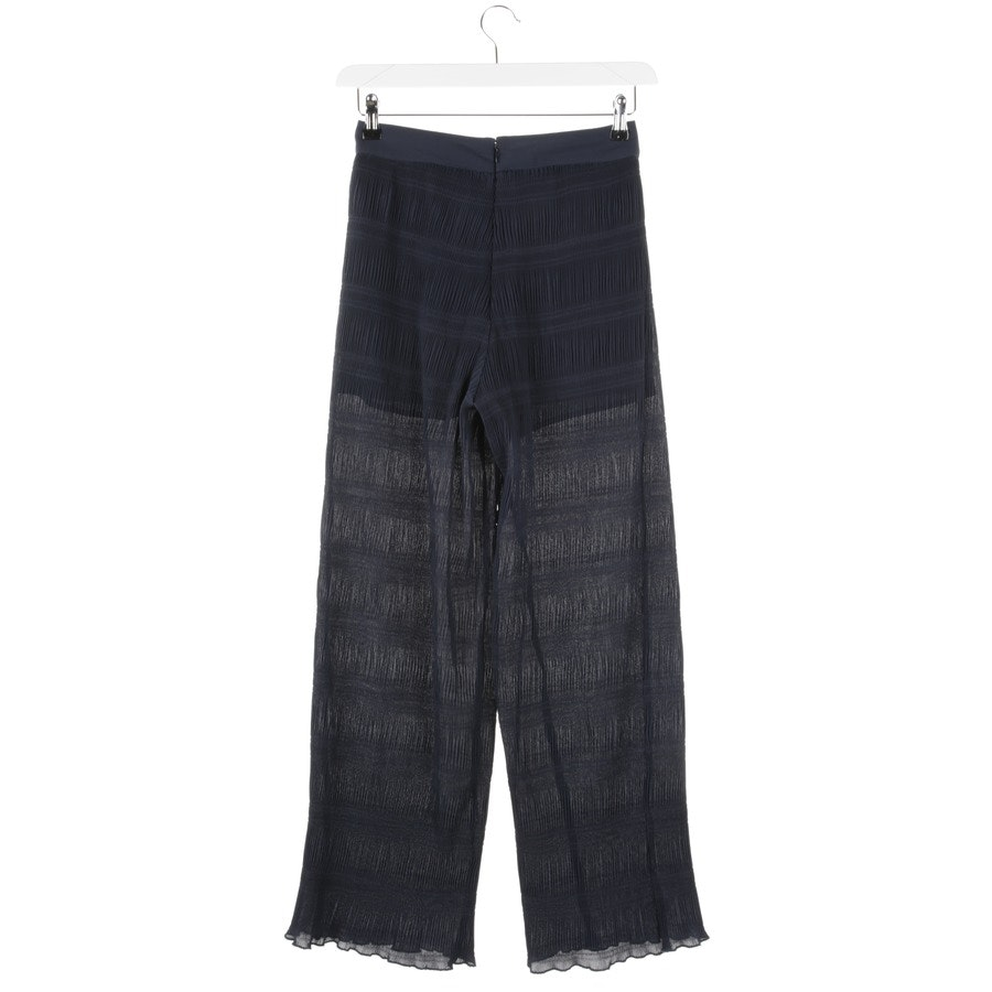 trousers from Ganni in dark blue size XS