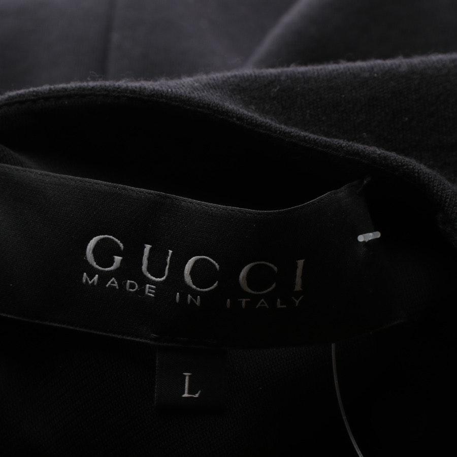 Wollkleid von Gucci in Schwarz Gr. L