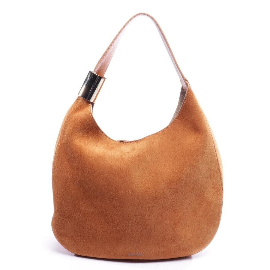 shoulder bag from Jimmy Choo in caramel - stevie