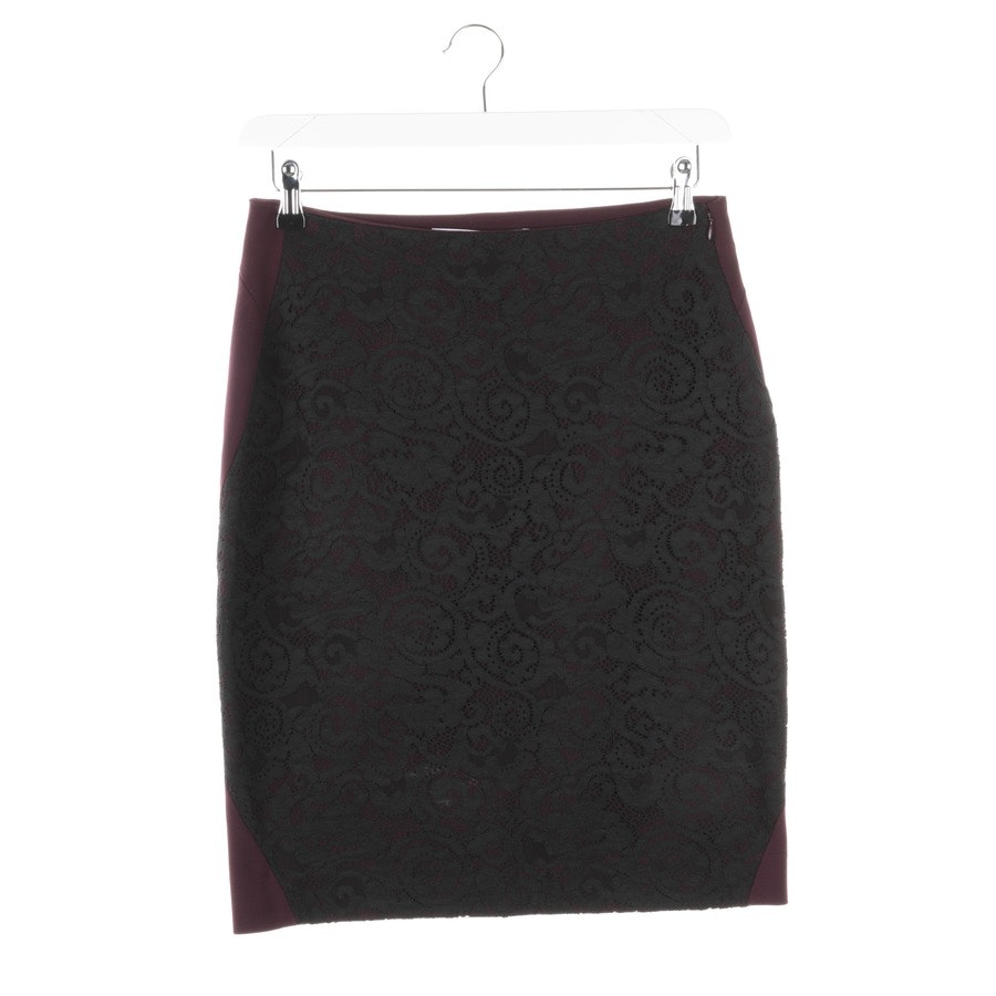 skirt from Diane von Furstenberg in aubergine and black size 40 US 10