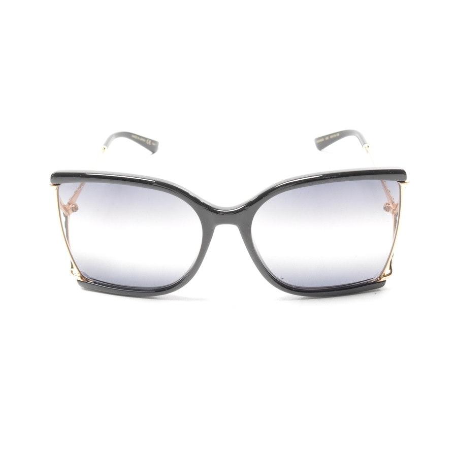 Sonnenbrille von Gucci in Gold und Schwarz - GG0592S