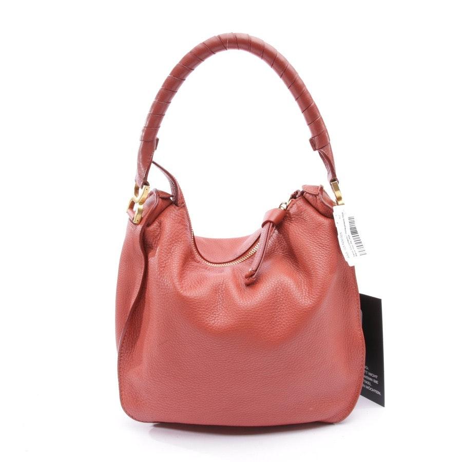 Schultertasche von Chloé in Rot - Marcie Hobo Bag Large