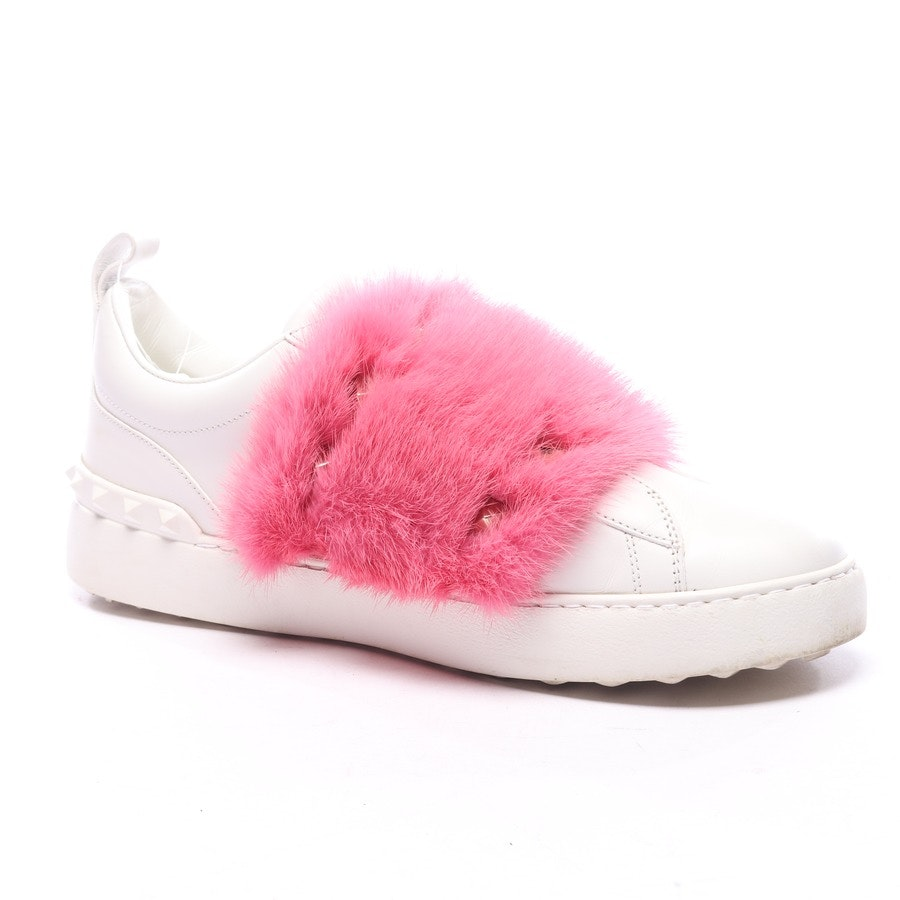 trainers from Valentino in white and pink size EUR 39,5 - rockstud