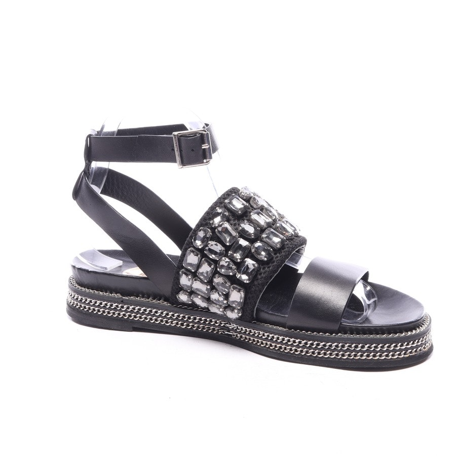 flat sandals from Ras in black size EUR 38