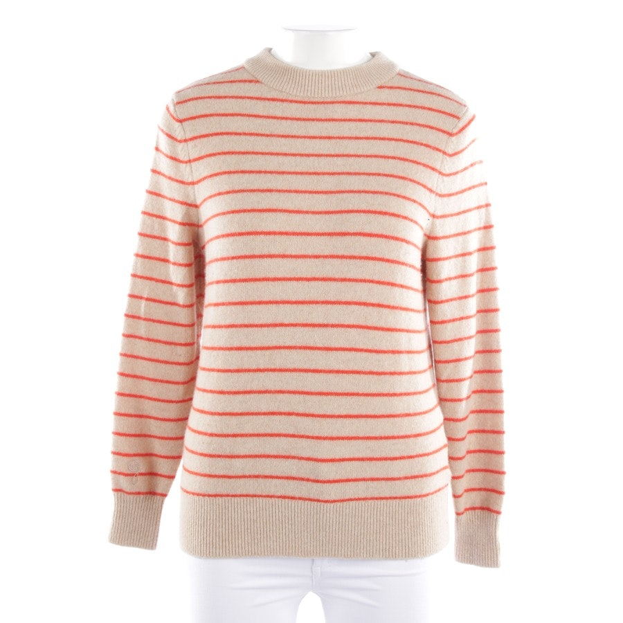 knitwear from Ganni in beige and red size S