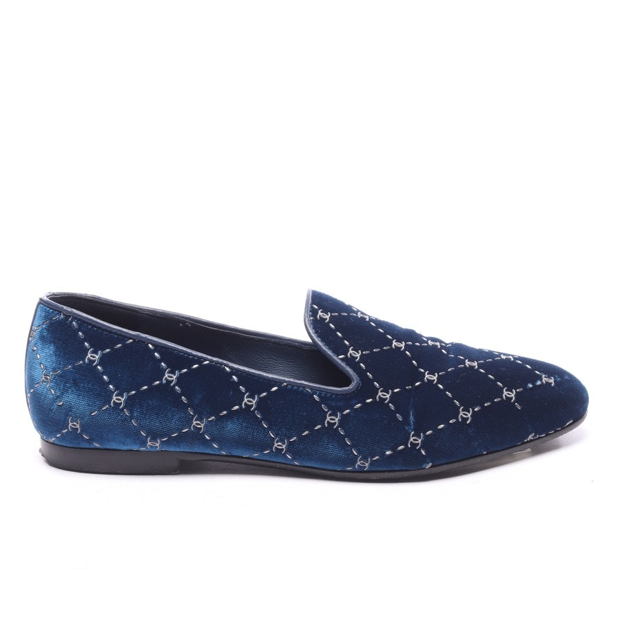 loafers from Chanel in petrol size EUR 36