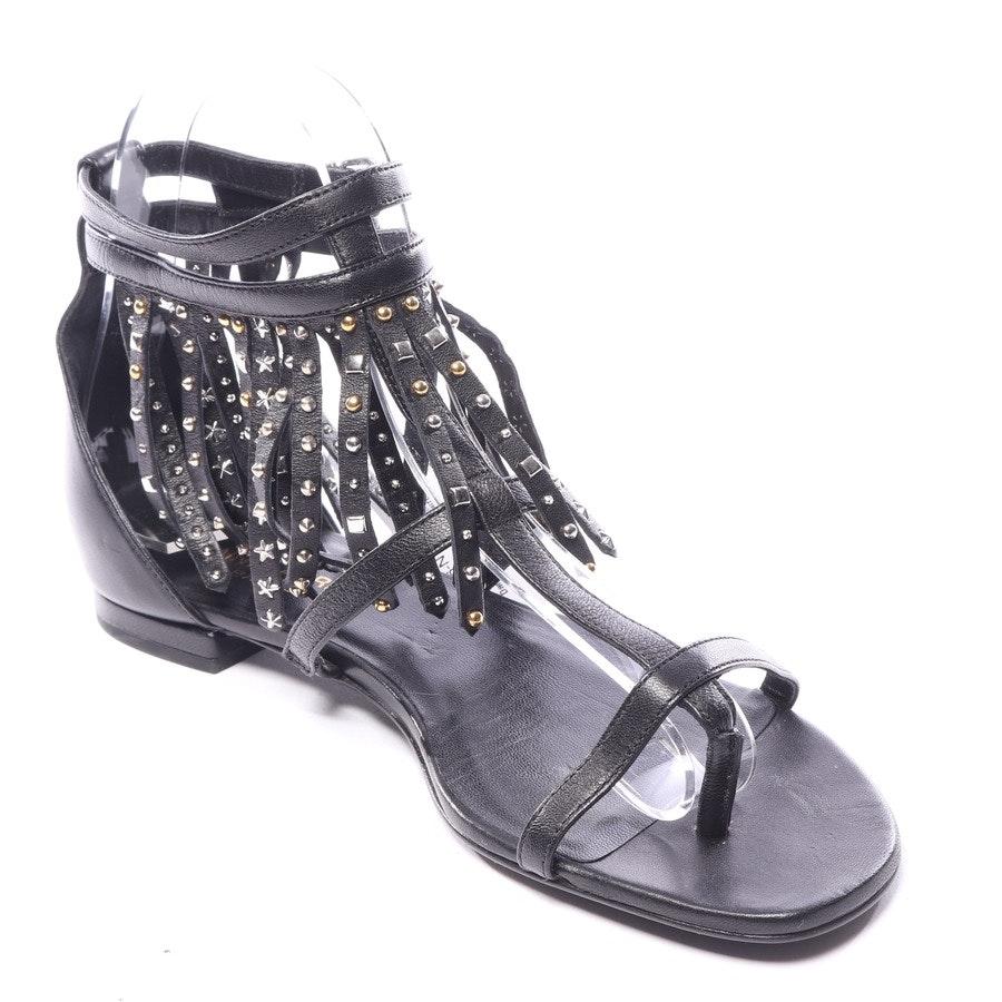 Sandalen von Saint Laurent in Schwarz Gr. EUR 37