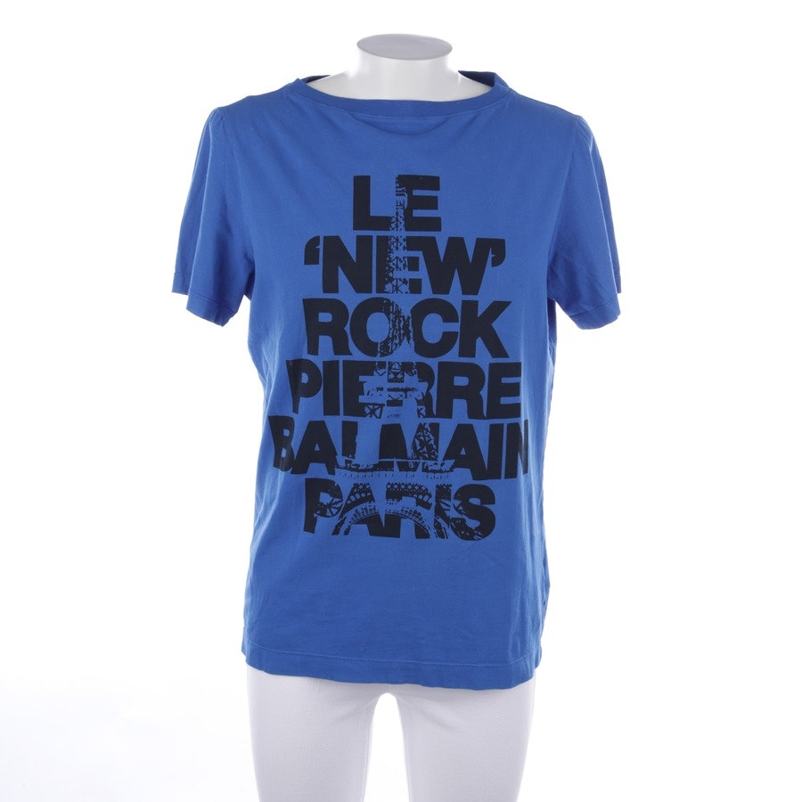 t-shirt from Pierre Balmain in blue and black size 48